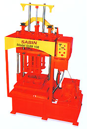 Mini Hydraulic Stationery Type Block Making Machine  - SHM 108.